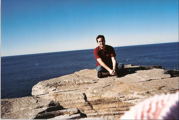 Self Portrait in Australia in My Photos by David Levithan