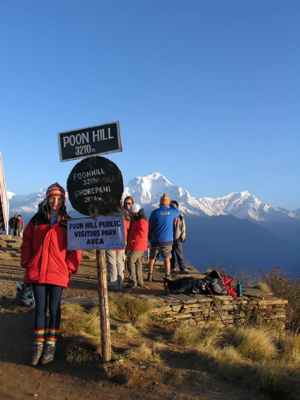 ..nepal- yeh thats right poon hill in  by Miranda Hurren