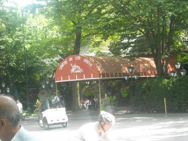 tavern on the green, a celeb eatery in central park in new york sights by James Dean Rivera