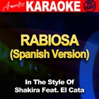Rabiosa (Spanish Version) [In the Style of Shakira Feat. El Cata] [Karaoke Version]