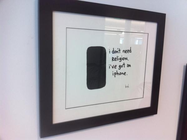 Some @gapingvoid for my office       http://post.ly/wOy3 in Posterous Photos by Sean Percival