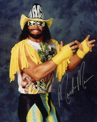 Randy Savage by Doc Xfoundation