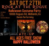 ALL AGES FREE SHOW NOT-LIABLE LIVE IN MIDLANDS ,VA SAT OCT 27TH WITH SPECIAL GUESTS PLAGUED BY AGE AND ATE-UP