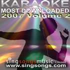 Karaoke Most Downloaded 2007 Volume 2