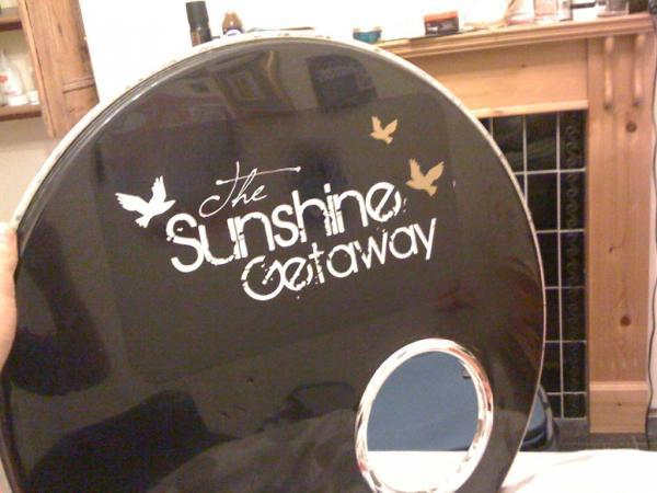 Bass Drum Decals in My Photos by