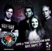 Groupies Wanted LIVE @ The Dandelion Bar in Plymouth, IN, Saturday 9/1!