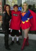 Black Widow and Supergirl