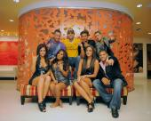 Enrique and the cast of Jersey Shore on the set of the I Like It video shoot 40Jersey Shore version41