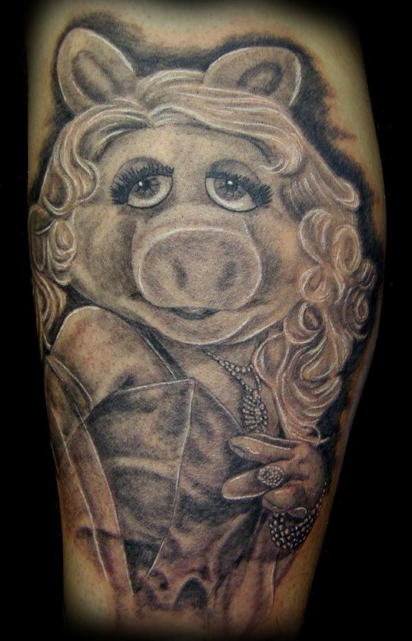 Miss Piggy Tattoo