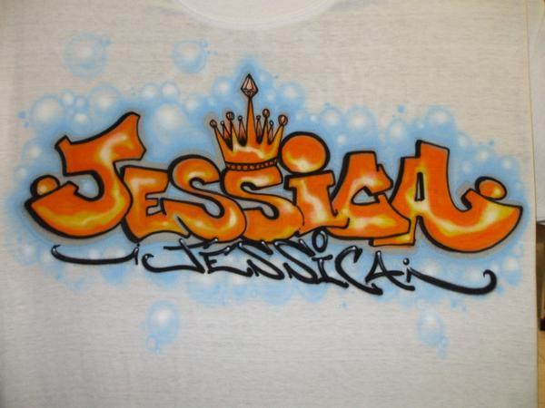 Imagenes de graffitis que digan jessica - Imagui