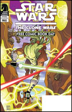 Dark Horse Comics: Star Wars: Clone Wars in FCBD 2009 Gold Sponsor Comics by