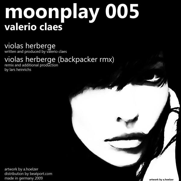 VALERIO CLAES - Violas Herberge [ Moonplay 005 ] in Flyer & Promotion by
