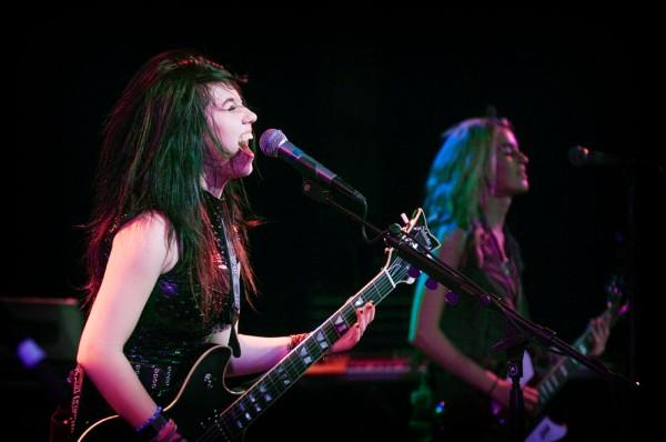 Julia Pierce and Miranda Miller of Cherri Bomb