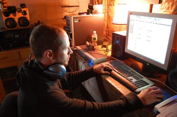 Pennie hard at work in Automata Sessions by 