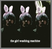 Photo of the girl washing machine