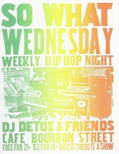 Photo of So What Wednesdays