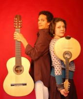 Photo of duo Luzi Nascimento