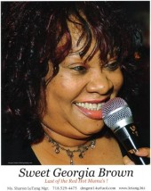 Photo of Sweet Georgia Brown Blues